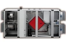Осушитель SET-02AF-MC с пластинчатым рекуператором для установки в техническом помещении